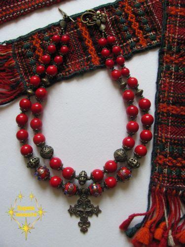 "Ожерелье-згарда ""Шипшинка (2)"""