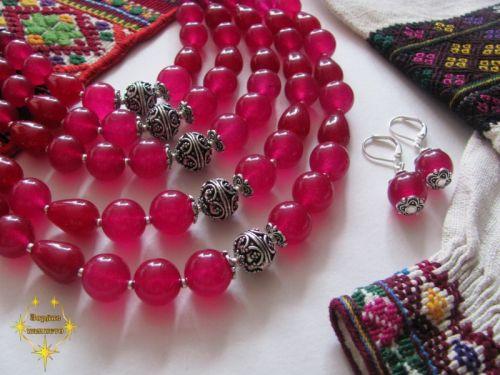"""Ожерелье """"Розовые лепестки"""" - изображение 1"""