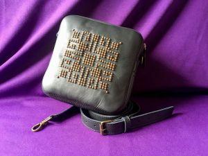 Афына Мирослава Женская кожаная сумка