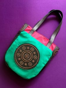 Сумки ручної роботи Жіноча тканинна сумка