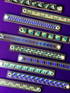 Браслети ручної роботи Шкіряні браслети