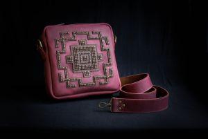 Афына Мирослава Кожанная сумка