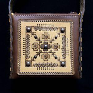 Изделия из кожи ручной работы Маленькая сумочка