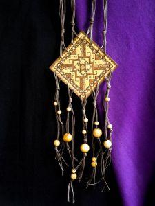 Изделия из кожи ручной работы Кожаный кулон