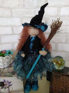 Куклы ручной работы Кукла-ведьмочка