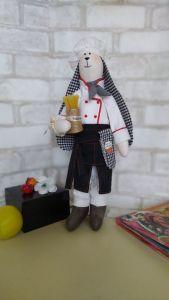 Куклы ручной работы Заец тильда