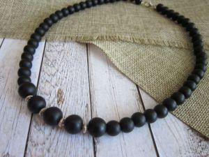 """Ожерелья и колье ручной работы """"Бранд"""" 303 (бусы для мужчин)"""