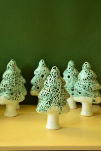 Керамика ручной работы Елочка декоративная