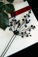 Черная шпилька для волос