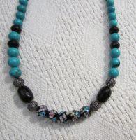 Ожерелье бирюзовое