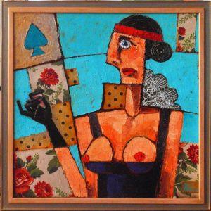 Мальовані картини Пікова mademoiselle
