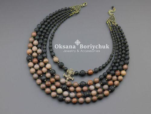 """Ожерелье """"Задумчивая красота"""""""