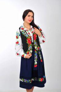 Платье вышиванка ручной работы Женский костюм с вышивкой