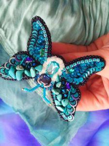 Кныш Юлия Голубая бабочка