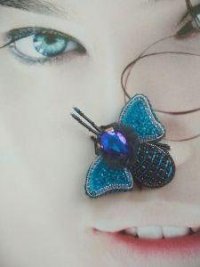Кныш Юлия Брош-бабочка