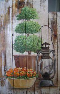 Cтарый фонарь