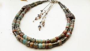 Ожерелье из пирита Нежность