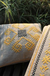 Декоративні подушки Трипільські відголоски