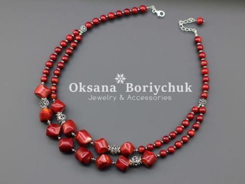 "Ожерелье ""Цветущий барбарис"""