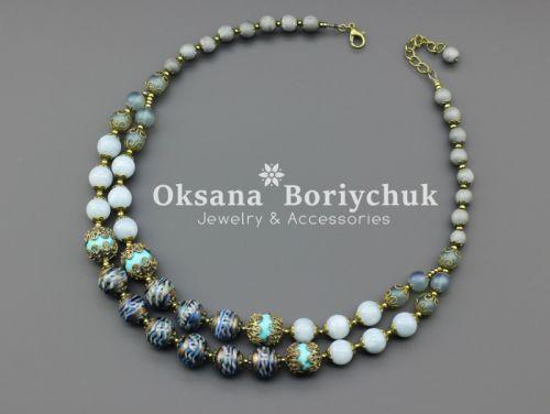 """Ожерелье """"Самоцветные искры"""" - изображение 1"""