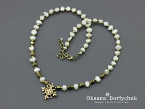 """Ожерелье """"Лемковская невеста"""""""
