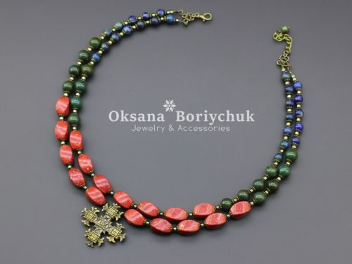 """Ожерелье """"Винтажная роскошь"""""""