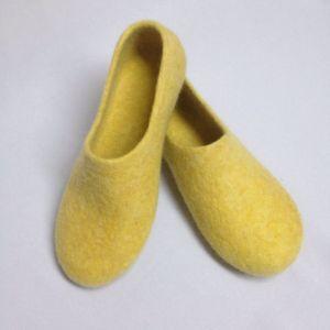 Обувь ручной работы Домашние войлочные тапки
