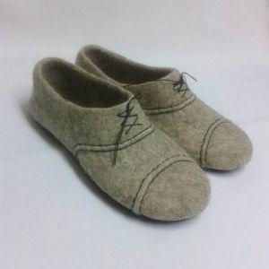 Взуття ручної роботи Домашні повстяні капці