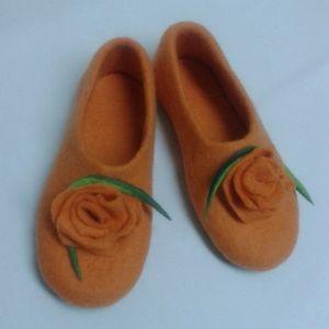 Женская обувь Домашние валяные тапки