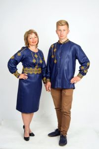 Embroidered apparel Парні вишиванки Ч 7323