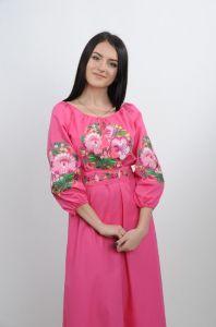 Вышиванки женские Платье Ч 7244