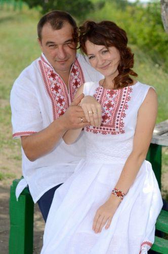 Мужская рубашка и платье Ч 7326