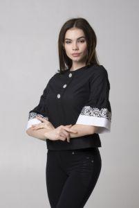 Одежда из льна Блуза Ч 7296