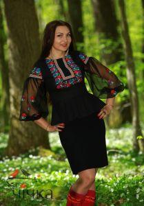 Женские вышитые рубашки Рубашка Ч 7101