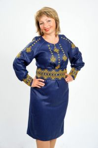 Embroidered apparel - Women Сукня Ч 7325