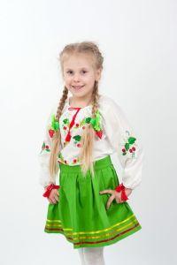 Вышиванки для девочек Рубашка Ч 7059
