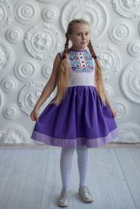 Children's apparel Сукня Ч 7307