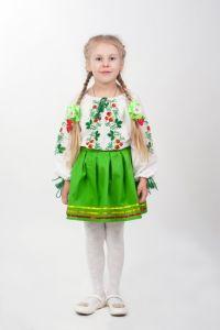 Вышиванки для девочек Рубашка Ч 7060