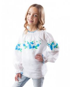 Embroidered apparel - Children Дитяча вишиванка БД-024