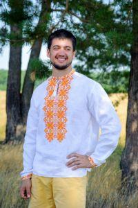 Мужские вышиванки Мужская рубашка Ч 7281