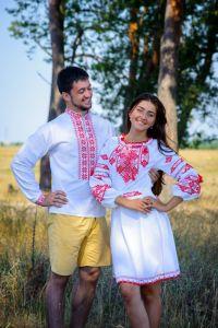 Мужские вышиванки Рубашка Ч 7200