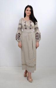Вышиванки женские Платье Ч 7251
