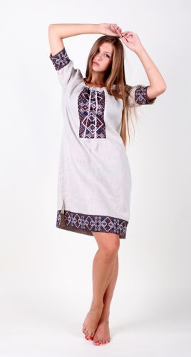 Платье женское (LeLaSi1) - изображение 1