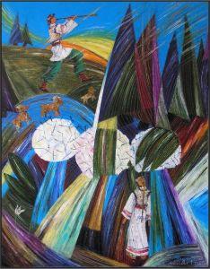 """Федына Роман и Надежда """"...Вівчара в садочку в тихому куточку жде дівчина жде...""""""""..."""