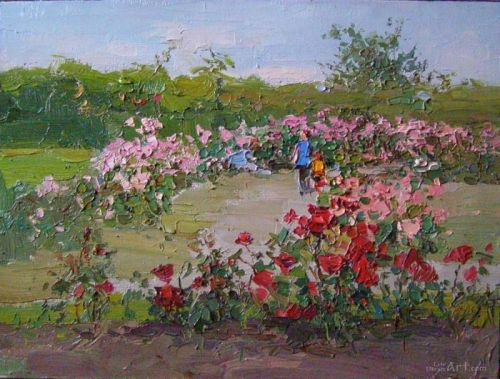"""""""Розы в саду"""" - изображение 1"""
