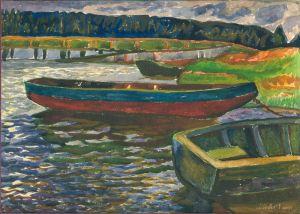 """Флинта Зеновий """"Лодки с мостом"""""""