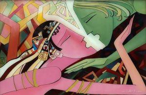 """Нарисованные картины """"На расстоянии поцелуя"""""""
