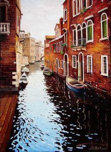 """""""Утро. Венеция. Канал"""""""