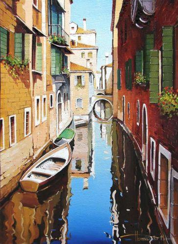 """Венеція. Канал"""