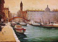 """""""Венеция. Утро. Лодки"""""""
